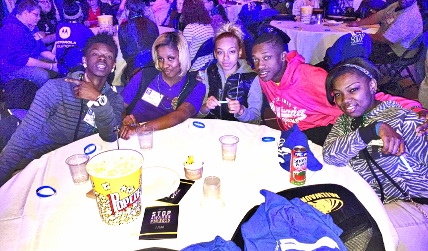 MCA Scholars attend the inaugural STOP Awards on May 21.