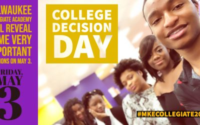 Decision Day on Friday, May 3