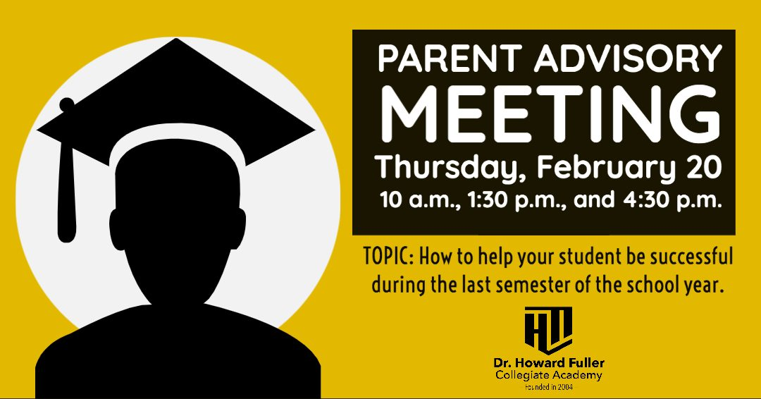 Parent Advisory Council Meeting on February 20
