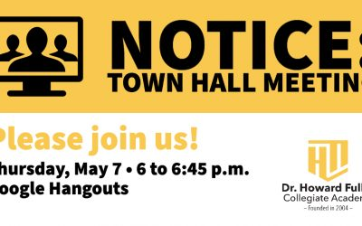 Town Hall Meeting: Thursday, May 7