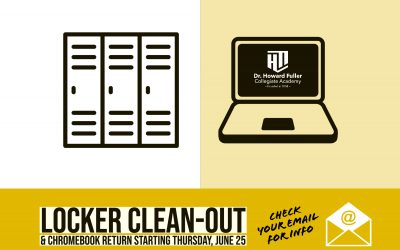 Locker Clean Out and Chromebook Return Begins on Thursday, June 25
