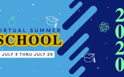 Virtual Summer School 2020: July 3 through July 30