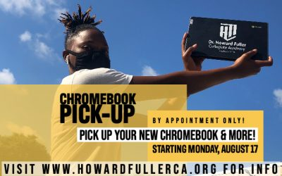 Chromebook Pick-Up Begins Monday, August 17
