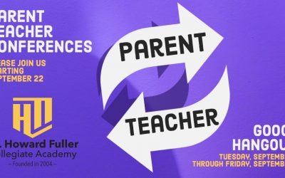 Parent Teacher Conferences on September 22 through 25