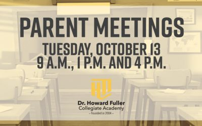 Parent Meetings: Tuesday, October 13