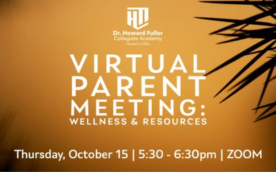 Parent Meeting: Resources & Wellness