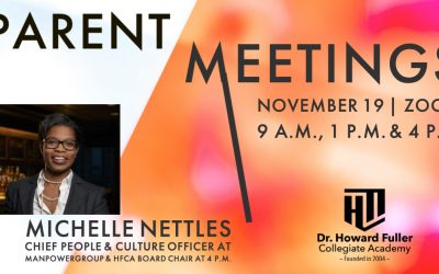 Parent Meeting on November 19 Features Board Chair Michelle Nettles