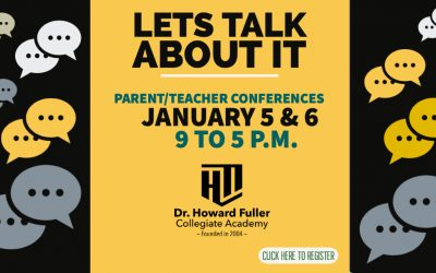 Parent Teacher Conferences on January 5 and 6