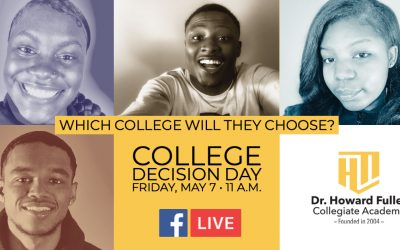 College Decision Day on May 7 for Dr. Howard Fuller Collegiate Academy Seniors